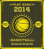 Basketball poster.