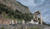 Sacred Temple of Athena in Delphi