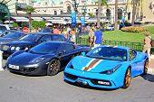 Ferrari 458 Speciale And Mclaren Mp4-12C