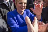 Kolinda Grabar Kitarovic The First Woman President Of Croatia