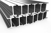 Rolled Metal H-beam