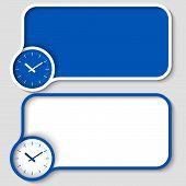 Blue Text Frames