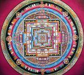 Old Tibetian Tangka