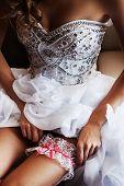 garter for bride