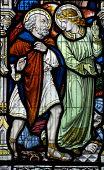 Angel and Saint Leonard of Noblac