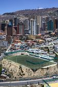 Zapata Football Field in La Paz, Bolivia