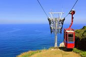 picture of car carrier  - Cableway  - JPG