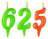 Candles Number Six Hundred Twenty-five