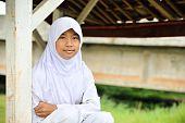 Muslim Teenager Girl