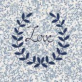 Stylish Love card