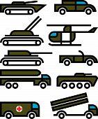Military Vehicles And Equipment