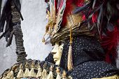 stock photo of venice carnival  - Carnival of Venice beautiful masks at St. Mark