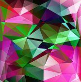 Poligonal background for different design( cover background for your phone brochure cover for the CD