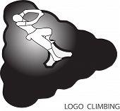 Rock Climbing Logo