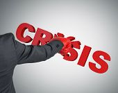 Businessman Splits Crisis