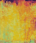 Abstract old background with rough grunge texture. With different color patterns: yellow (beige); cyan; red (orange); purple (violet)