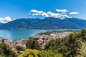 Lucarno City And Lake