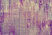 Old-style background, aging texture. With different color patterns: yellow (beige); gray; purple (violet); pink