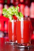 stock photo of bloody mary  - Bloody Mary is a popular cocktail containing vodka tomato juice and usually other spices or flavorings such as Worcestershire sauce Piri piri Sauce - JPG