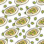 Doodle Style Seamless Pattern for Saint Patrick's Day