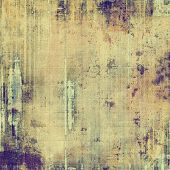 Abstract textured background designed in grunge style. With different color patterns: yellow (beige); brown; gray; purple (violet)