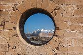 Essaouira, Morocco -  Town Of Essaouira Circa.  Fortress