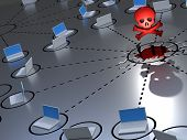 stock photo of malware  - PC - JPG