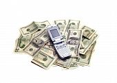Objects - Cellphone On Money