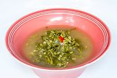 stock photo of laxatives  - Ceylon Spinach soup - JPG