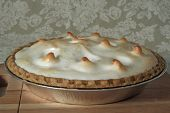 Lemon Meringue Pie, Baked