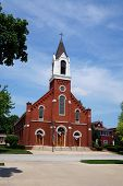 pic of illinois  - The Church of the Immaculate Conception in Morris - JPG