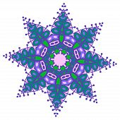 pic of holi  - Hand drawing zentangle color element - JPG
