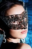 picture of masquerade  - Close - JPG