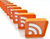 Orange RSS Symbol's