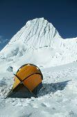 High camp Alpamayo