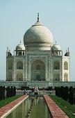 Taj Mahal palace in Agra,India