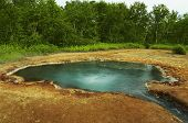 image of steam sterilization  - Geyser on Kamchatka - JPG