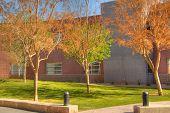 Campus de la escuela moderna