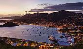 Town Of Charlotte Amalie And  Harbor