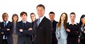 Junge attraktive Business People - das Elite Business team