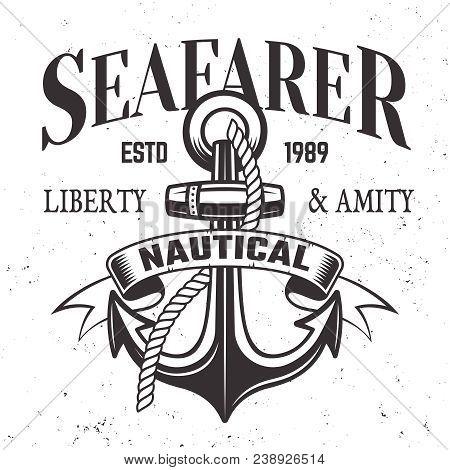 Sailor Vintage Label Emblem Or