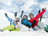 foto of family ski vacation  - Winter - JPG