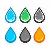 Water Logo. Water Best Logo. Aqua Logo. Bright Water Logo. Eco Logo. Environment Logo. Natural Logo. poster