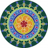 stock photo of kolam  - Rangoli - JPG