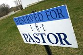 Reserved For Pastor