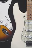 Two Electric Guitars