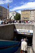 Marienplatz Metro Entrance
