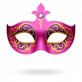 stock photo of masquerade  - Carnival Mask - JPG