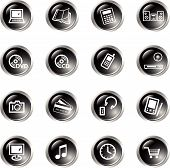 Black Drop Electronics Icons