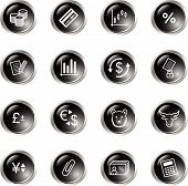 Black Drop Finance Icons
